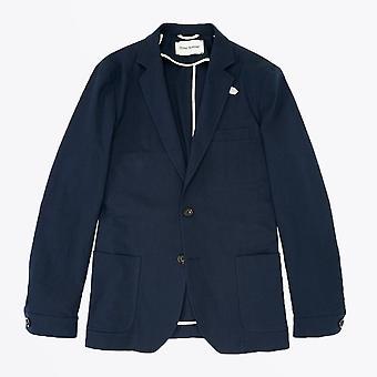 Oliver Spencer  - Theobald Cotton Jacket - Navy