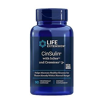 CinSulin with InSea2 and Crominex 90 vegetable capsules