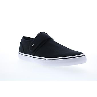 Lugz Voyage II  Mens Black Canvas Lifestyle Sneakers Shoes