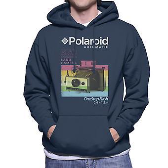 Polaroid 320 Land Camera Men's Hooded Sweatshirt