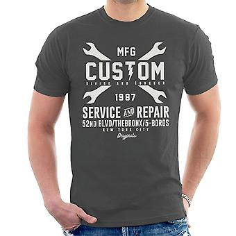 Divide & Conquer Custom Service And Repair Men's T-Shirt