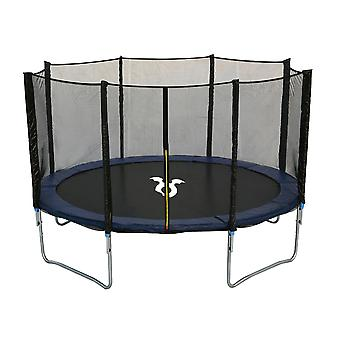 Charles Bentley Children's Monster 12ft Trampoline with Safety Net Enclosure