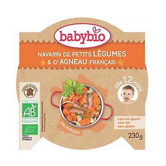 Menu Navarin Small Vegetables Organic Lamb (from 12 months) 230 g
