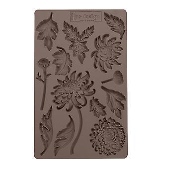 Re-Design met Prima Botanist Floral 5x8 Inch Mould
