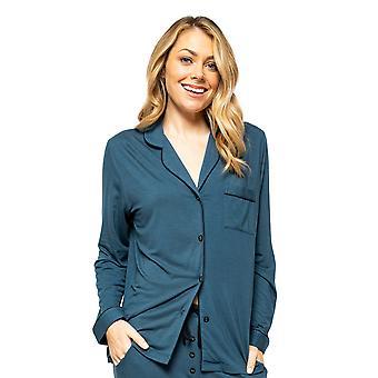 Cyberjammies Elena 4575 Frauen's Petrol Blau Pyjama Top