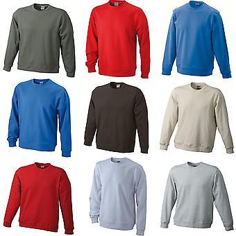 James and Nicholson Unisex Basic Sweatshirt