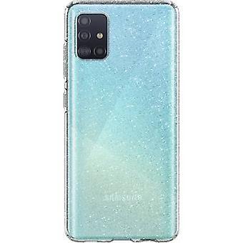 Spigen Liquid Crystal Case Samsung Galaxy A51 Clear, Glitter effect