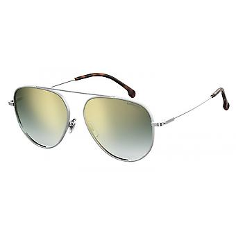 Sunglasses Unisex 188/S silver with green glass