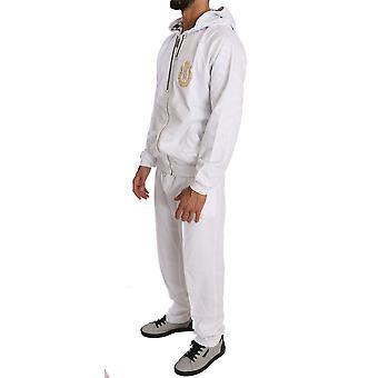 White Cotton Sweater Pants  Tracksuit BIL1053-1