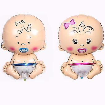 Sucking Nipple Angel Foil Balloons - Baby Globos Inflatable Helium