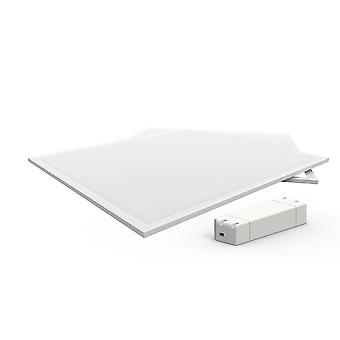 Inspireret Techtouch - X2 Panel - LED Panel 595 x 595mm 42W 4000K (Hvid ramme) (1, 1)