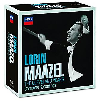 Maazel/Cleveland Orchestra-Maazel/Cleveland Orchestra: complete Cleveland opnames [CD] USA importeren