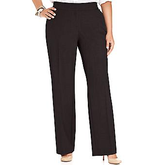 Alfani   Plus Size Curvy-Fit Straight-Leg Pants