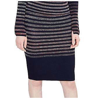 RACHEL Rachel Roy | September Space Dye Textured Pencil Skirt