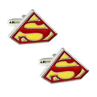Banden Planet Superman Manchetknopen