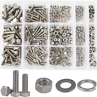 304 Stainless Steel Screw , Nut, Washer Assortment Kit