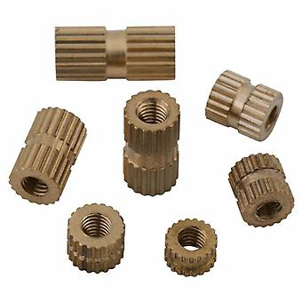 M3 Brass Threaded Nut 3d Printing Metal Nut Nut-supplies Durable And Practical To Use Nuts