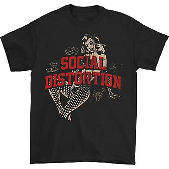 Social Distortion White Light Icons Tee T-shirt