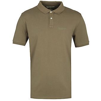 True Religion California U.S Olive Polo Shirt