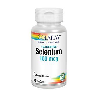 Solaray Selenium, 100 mcg, 90 Mössor