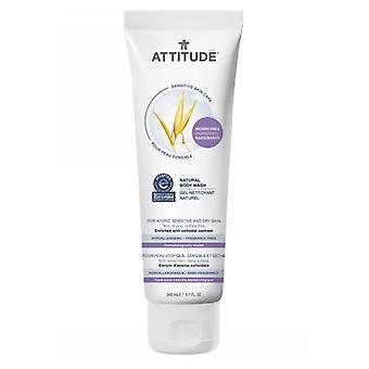 Attitude Sensitive Skin Care Natural Body Wash, 8.1 Oz