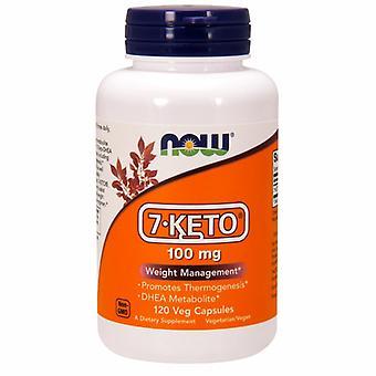 Jetzt Lebensmittel 7-Keto, 100 mg, 120 Veg Caps
