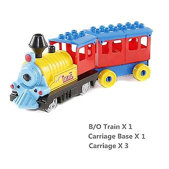 Battery Operated Duplo Blocks Train,  Building Bricks -children Educational Toy