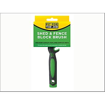 Rodo Shed & Fence Block Brush 12 x 3cm FBBB003