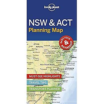 Lonely Planet New South Wales & ACT Planning Map (Map)