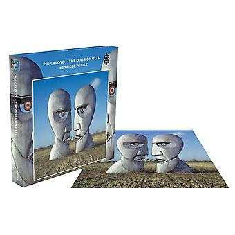 Pink Floyd Jigsaw Puzzle The Division Bell Album Cover uusi virallinen 500-kappale