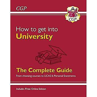 Sådan kommer du ind på universitetet: Fra at vælge kurser til UCAS og personlige udtalelser