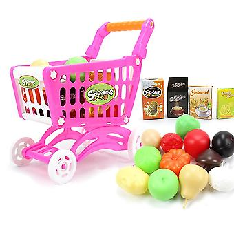 Mini Shopping Cart-pretend Play Toy