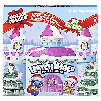 Hatchimals 6044284 colleggtibles adventskalender med exklusiva karaktärer och pappershantverk accessori