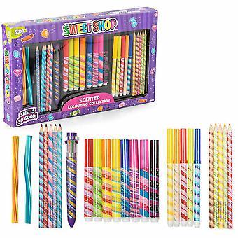 Tobar Sweet Shop Aktivitetsset, Kreativa pennor för konstuppsättning