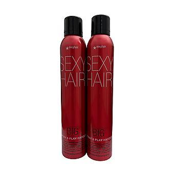 Big Sexy Hair Spray & Play Harder 8 OZ Set of 2