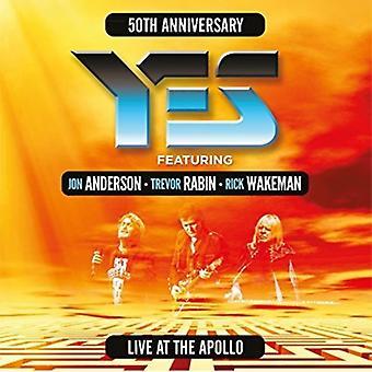 Yes / Anderson, Jon / Rabin, Trevor / Wakeman, Rick - Live at the Apollo [CD] USA import