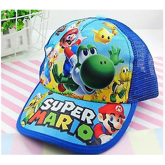 Cartoon Super Mario Sun Hat, Casual Cosplay Baseball Cap