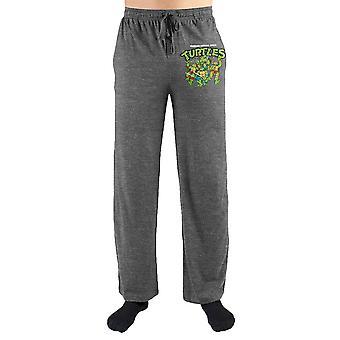 Teenage mutant ninja turtles tmnt characters print men's loungewear lounge pants