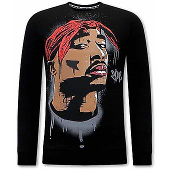 Tupac Shakur Sweater - Black