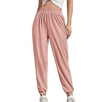 Women Elastic Waist Sweatpants