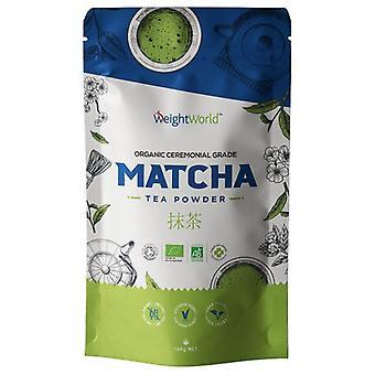 Matcha Tea - Premium Grade Pure Japanese Matcha Tea Powder By WeightWorld - 100g Pouch