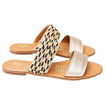 Litteät sandaalit Silvia Cobos Conga Gold