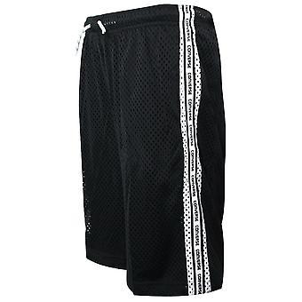 Converse Junior Boys Mesh Court Shorts Black Training Football Pants 968274 023