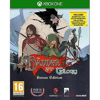 The Banner Saga Trilogy Bonus Edition Xbox One Game