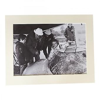 Larrini Mcqueen Smoking In 917 A4 Mounted Photo