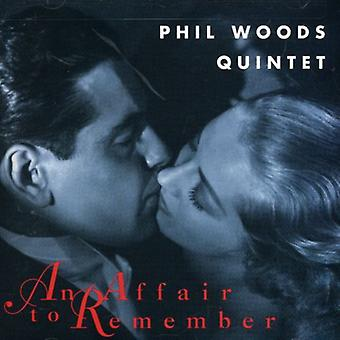Phil Woods Quintet - Affair to Remember [CD] USA import