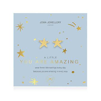 Joma Korut A Little You Are Amazing Gold korvakorut 4376