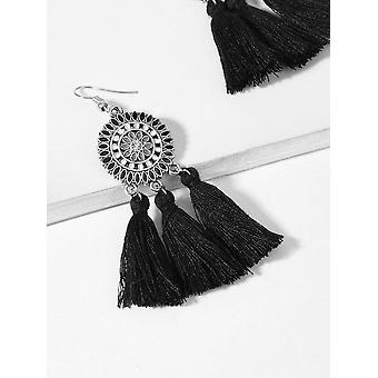 Tassel Sector Drop Earrings