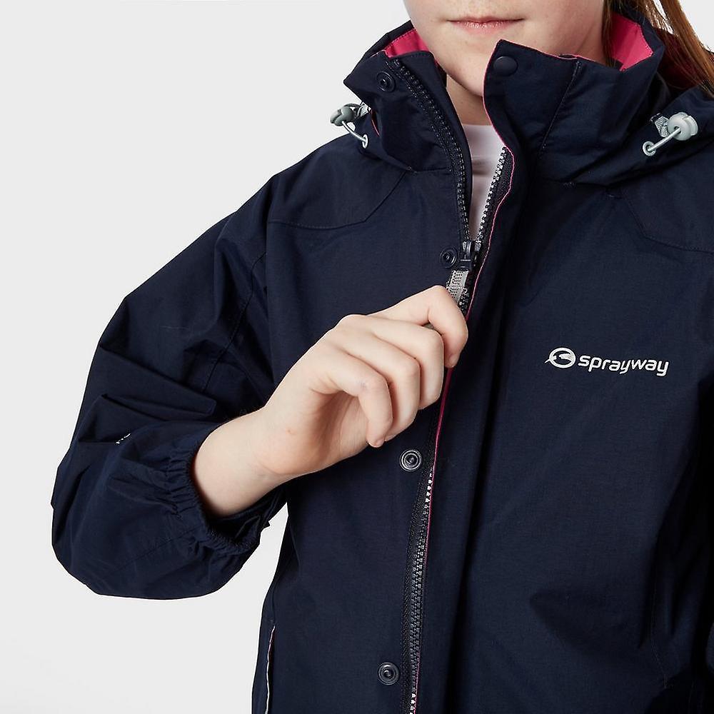 New Sprayway Girl's Sandpiper I.A Waterproof Jacket Navy