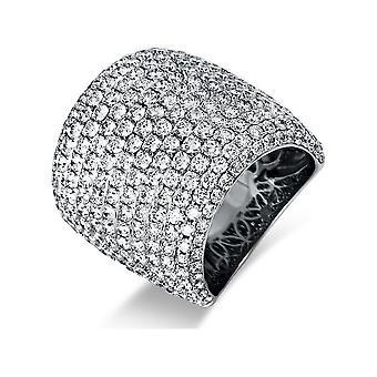 Luna Creation Sensational Ring Pavé 1P508W854-2 - Ring width: 54